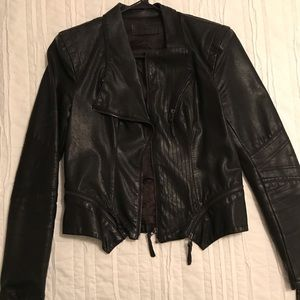 BlankNYC Faux leather jacket size Small